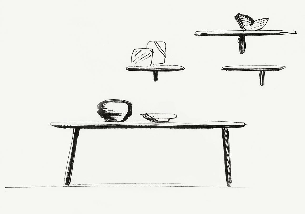 Arin iratzoki lizaso design studio for Complex table design