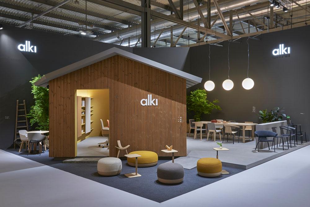 Stand Design For Alki Milan Furniture Fair 2019