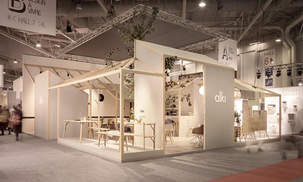 Stand Design For Alki Maison&Objet 2016