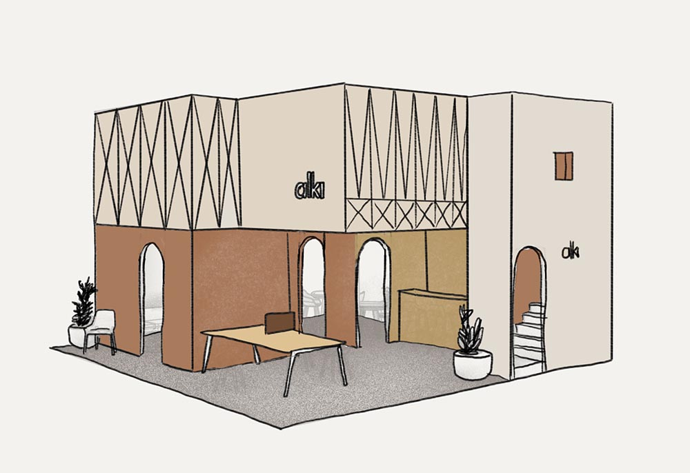 Stand Design for Alki Maison&Objet 2020