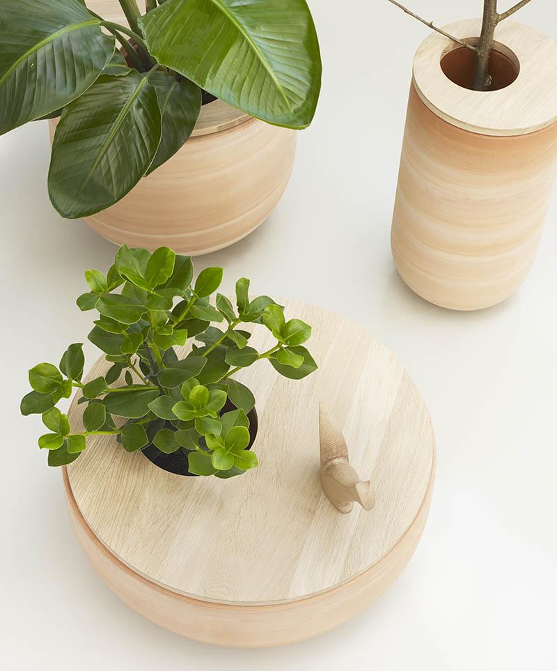 Lur flowerpots design iratzoki lizaso